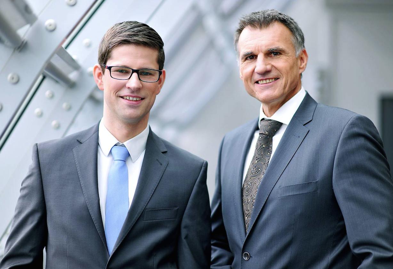 Erik Dähne and Richard Fahringer