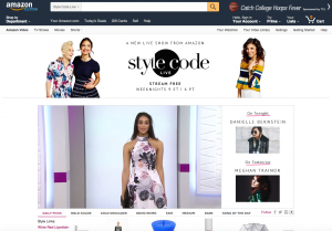 Amazon Stylecode screengrab