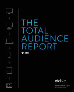 Nielsen Q4 2015 audience report