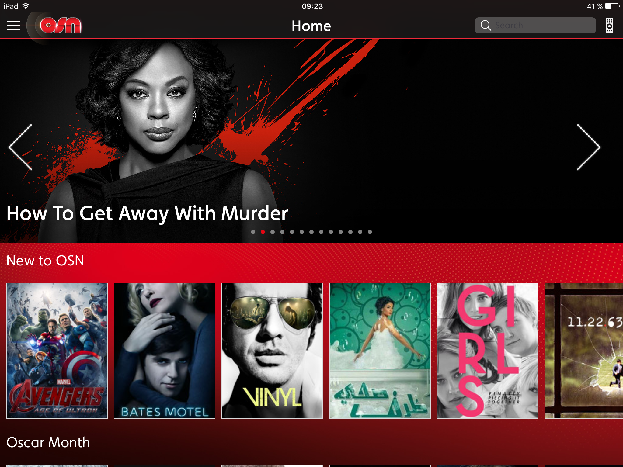 OSN launches new iPad app – Digital TV Europe
