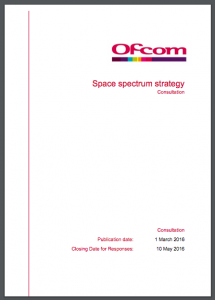 Ofcom Space Spectrum
