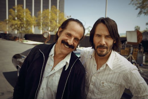 Peter Stormare and Keanu Reeves