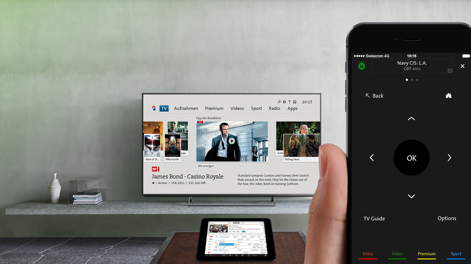 Swisscom TV 2.0 to see further innovation from 3 Screen Solutions
