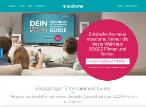 Maxdome screen grab