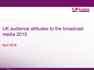 Ofcom UK audience report