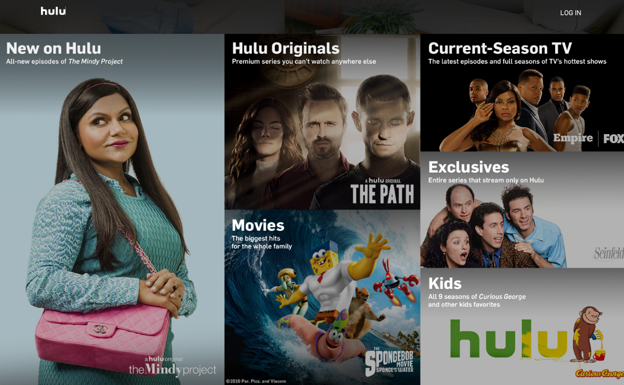 Hulu Screenshot