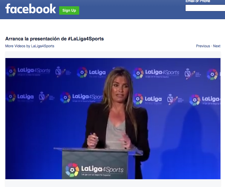 La Liga has previously tapped Grabyo to distribute content on social networking platforms