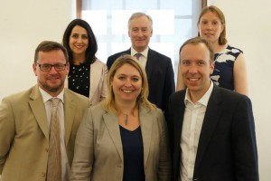 Secretary of State Karen Bradley (centre) at the DCMS