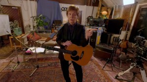 Paul McCartney in 'Mull of Kintyre', a Dolby Atmos VR experience in the Jaunt VR app.