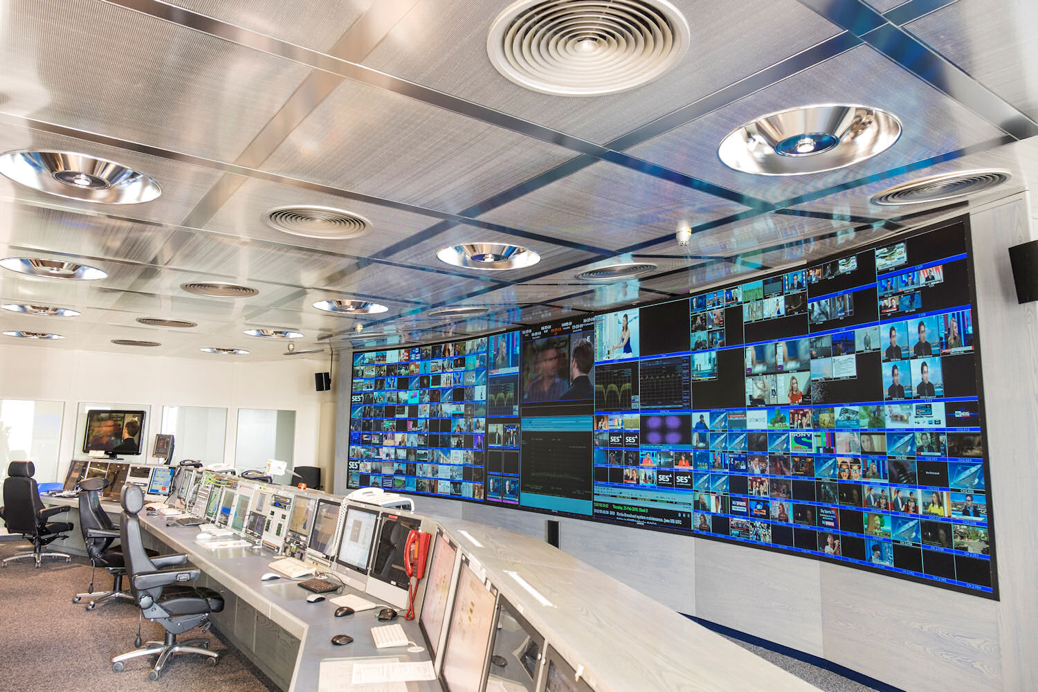 SES astra control room