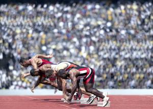 Screen grab of SES runners pic