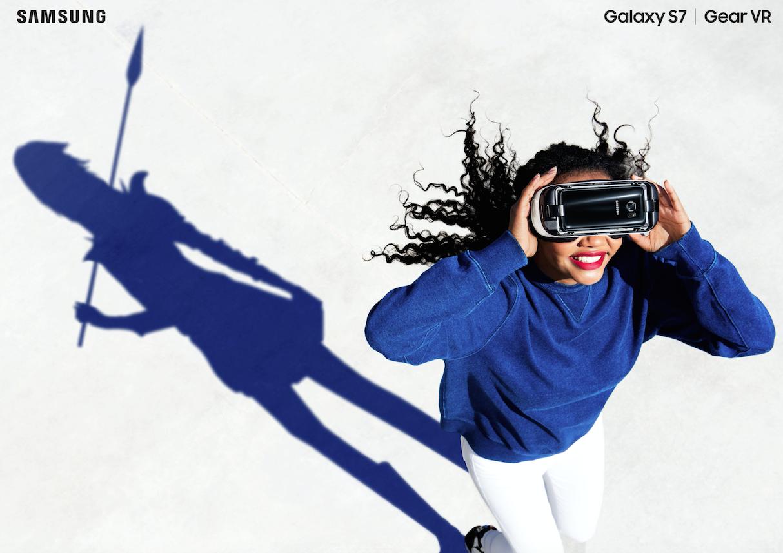 samsung lifesstyle Galaxy warrior vr virtual reality