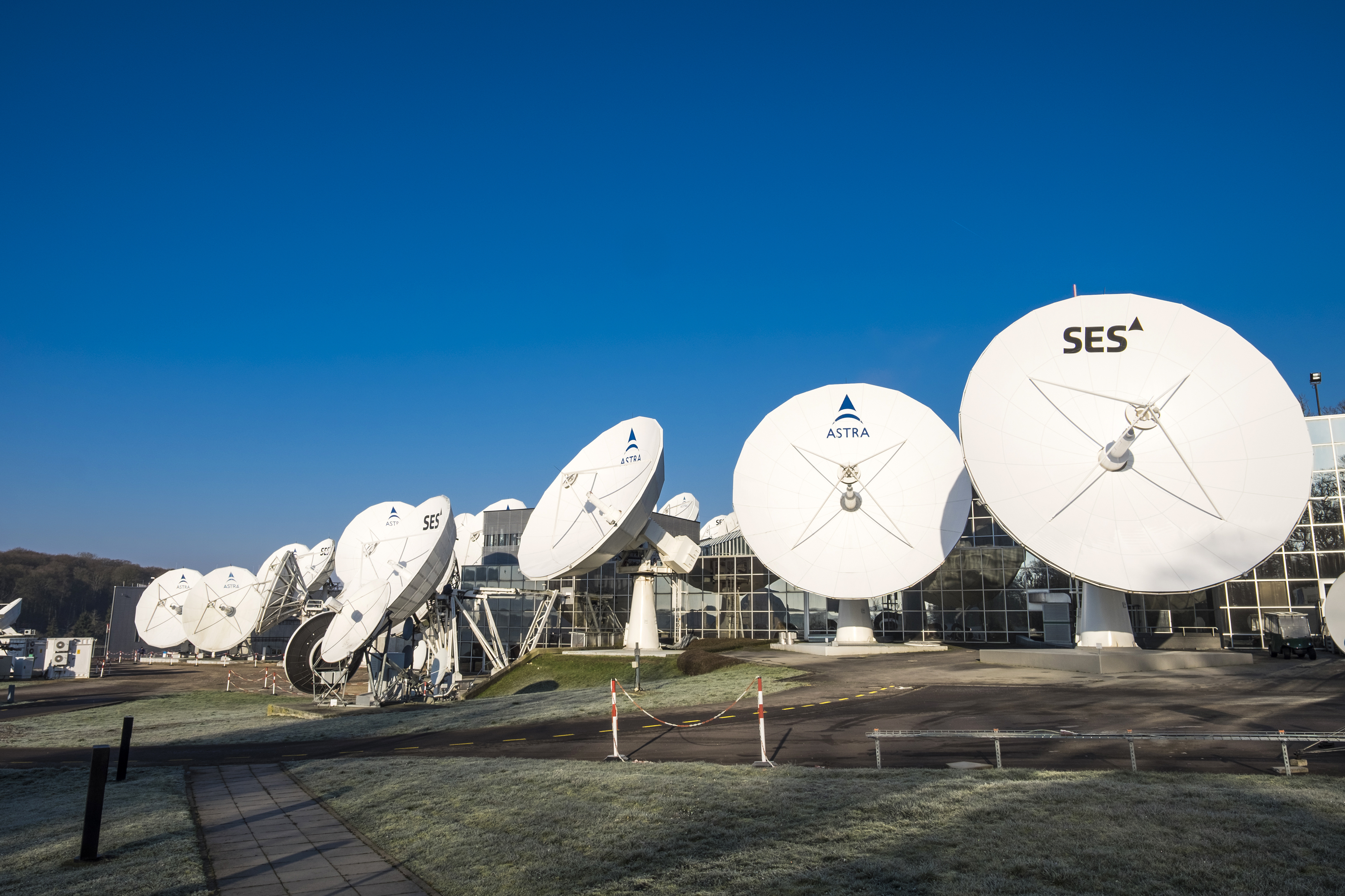 SES astra antennas
