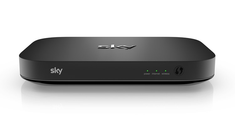 sky fibre router