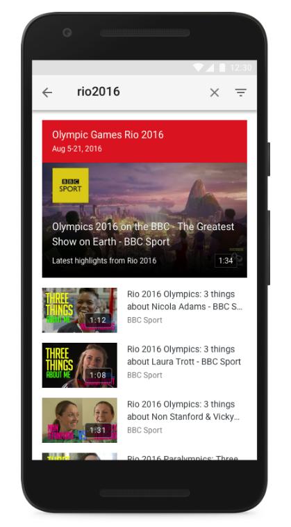 youtube rio olympics