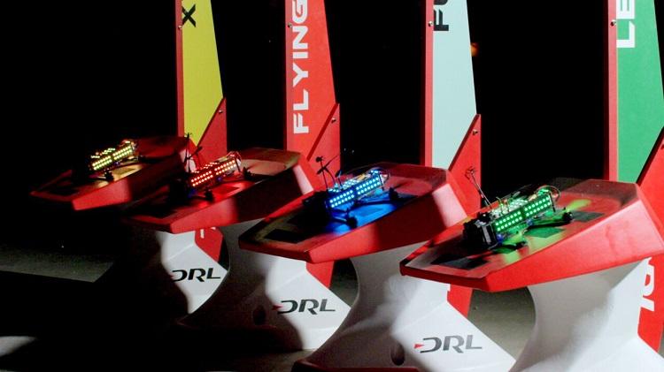 sky drone racing
