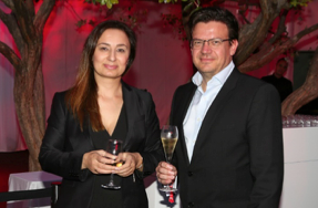 Aida Martirosyan and Rian Bester