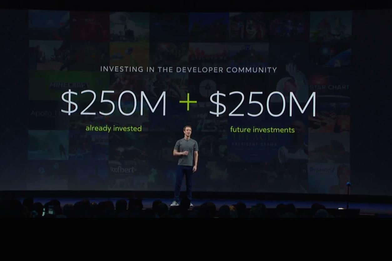 Facebook pledges another US$250m for VR content – Digital TV