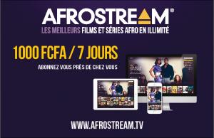 Afrostream prepaid card_FCFA_7JOURS