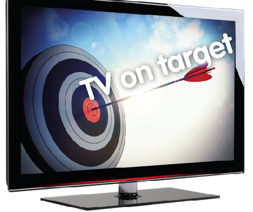 tv on target ads