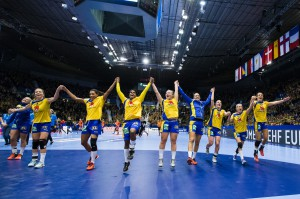 Handboll, EM, Dam, Sverige - Spanien