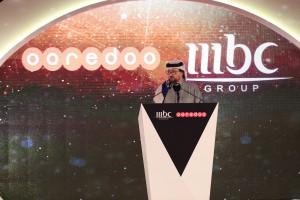 Waleed Al Sayed at the MBC+ Ooredoo launch