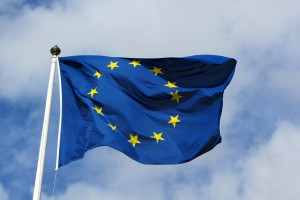 European_flag_in_Karlskrona_2011_Wikimedia Commons