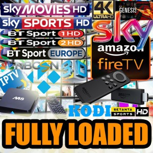 An example of the jailbroken 'fully loaded Kodi' devices it is possible to buy online