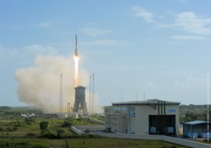 SES-15 takes off