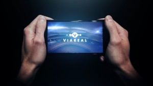 MTG viareal VR app on device