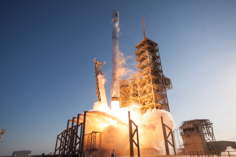 SES-10 launches onboard a SpaceX vehicle