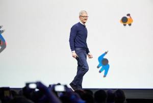 Apple CEO Tim Cook at WWDC 2017