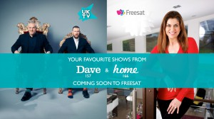 Dave & Home launch on Freesat