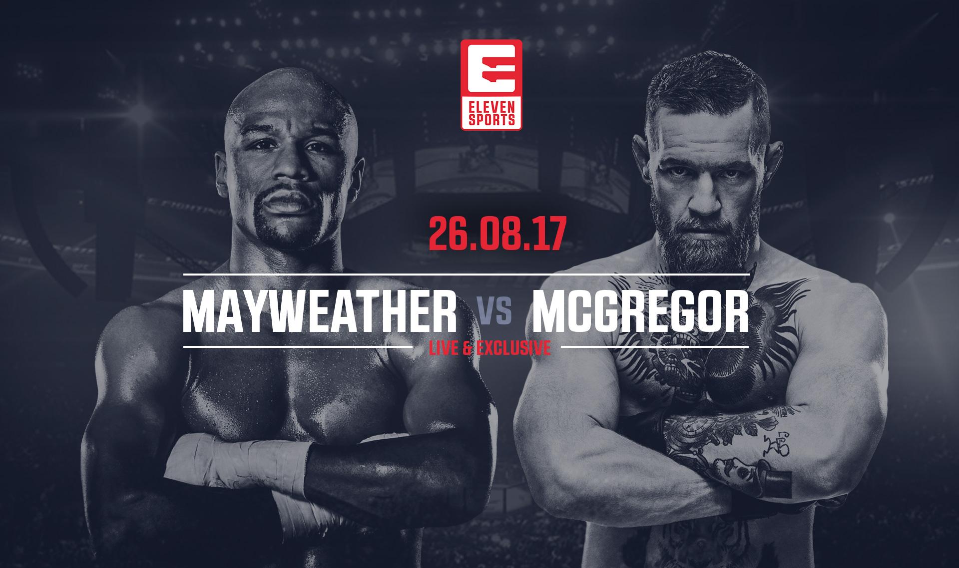 Mcgregor Mayweather Tv