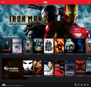 Iflix_interface
