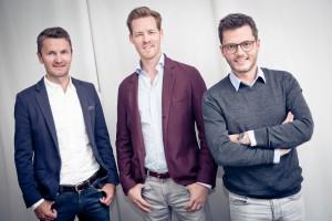 (l-r) Bernd Wendeln, Herbert Kloiber, and Georg Ramme