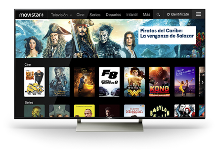 Movistar+ launches on Sony Android-based smart TVs – Digital
