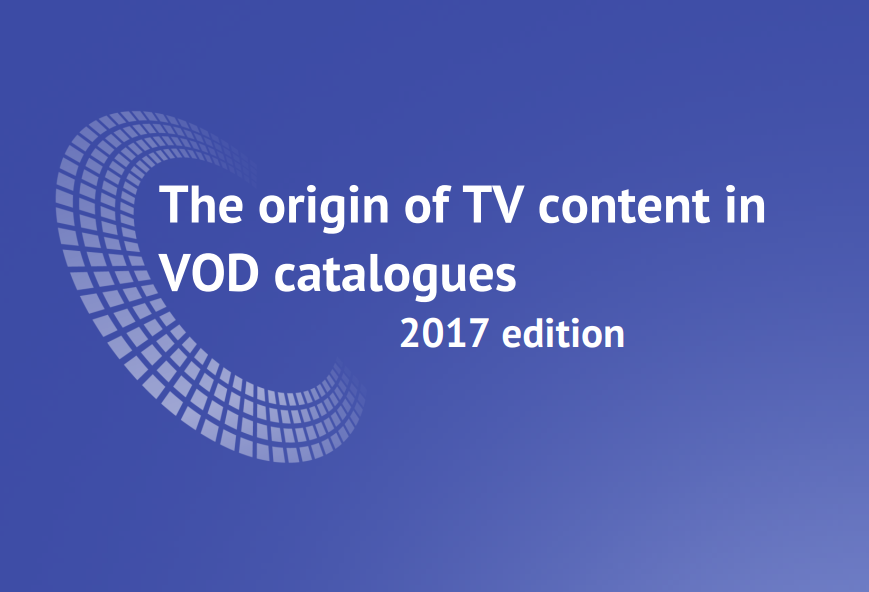 European TV accounts for just 21% of episodes on SVOD services