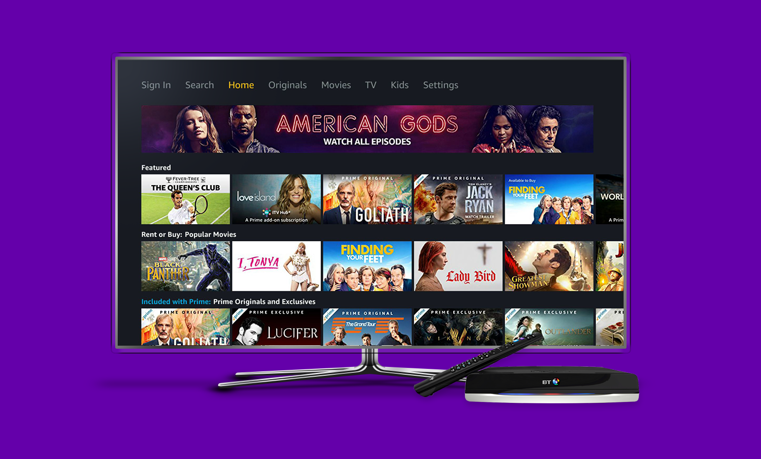 Amazon Prime Video launches on BT TV set-top boxes – Digital TV Europe