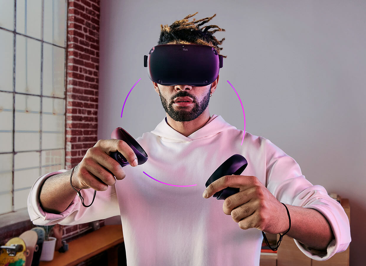 Oculus has shown the new Oculus Quest headset
