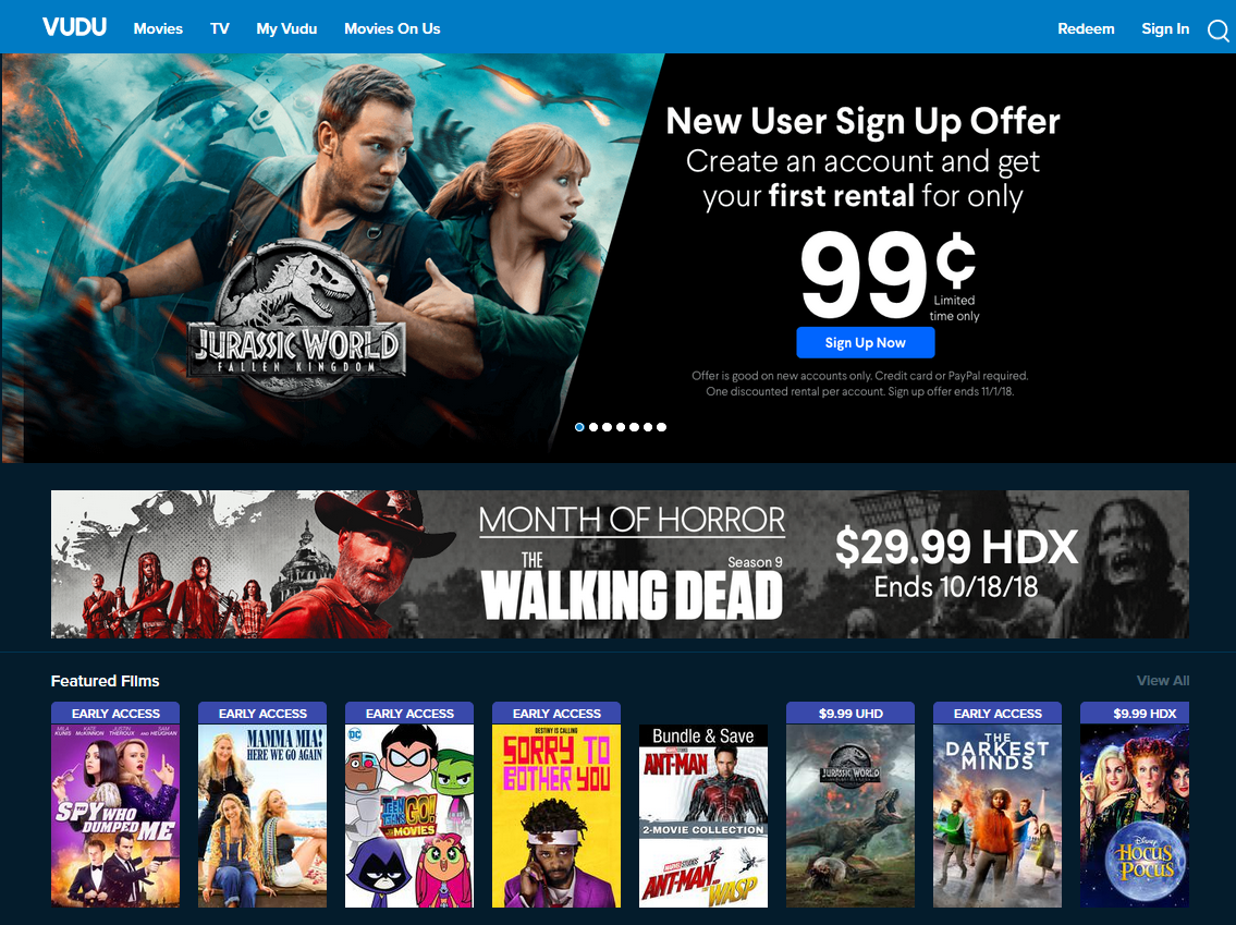 Report Walmart In Talks Over Opening Vudu To Streaming Partners