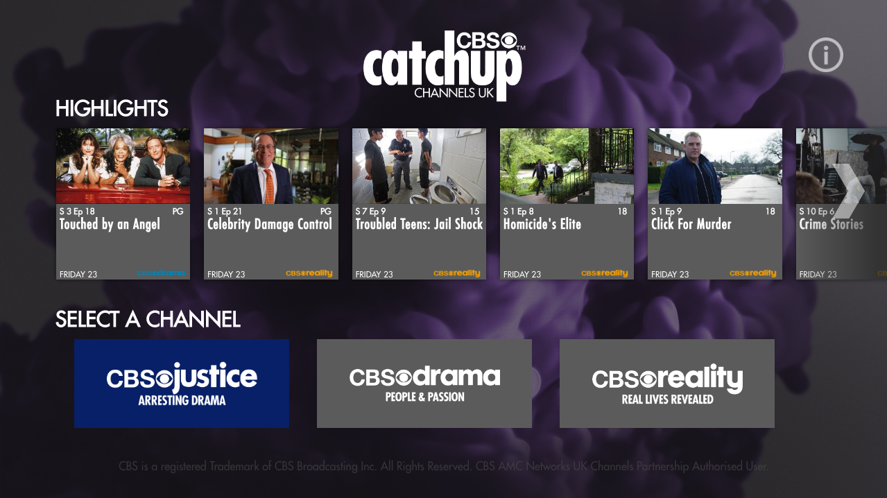 Horror Bites and CBS Catchup Channels UK to launch on