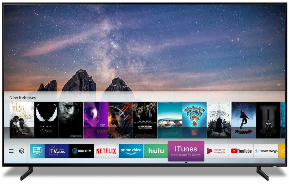 Apple to offer iTunes movies and TV shows via Samsung TVs