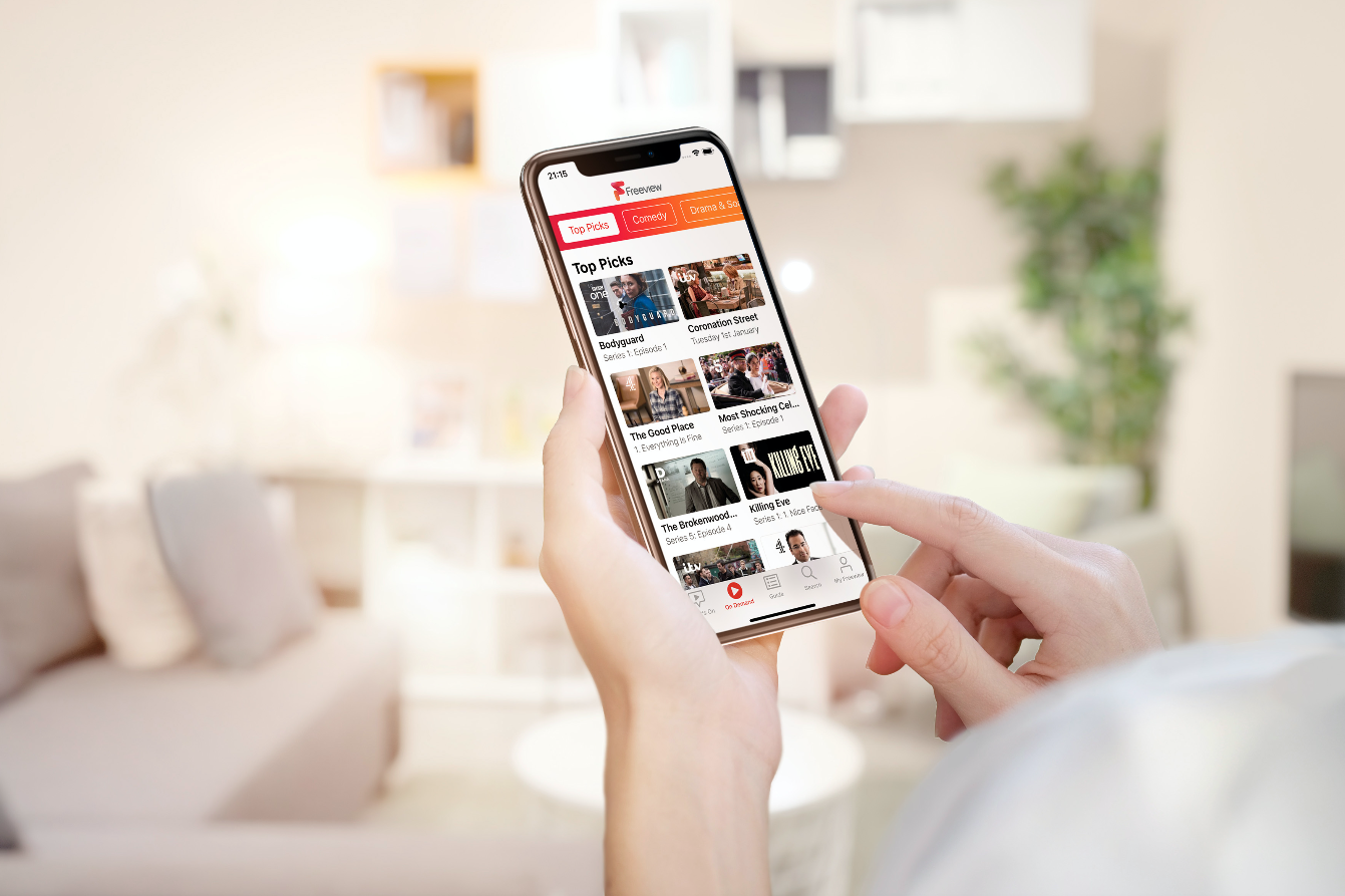 Freeview launches mobile app with live streaming of PSBs