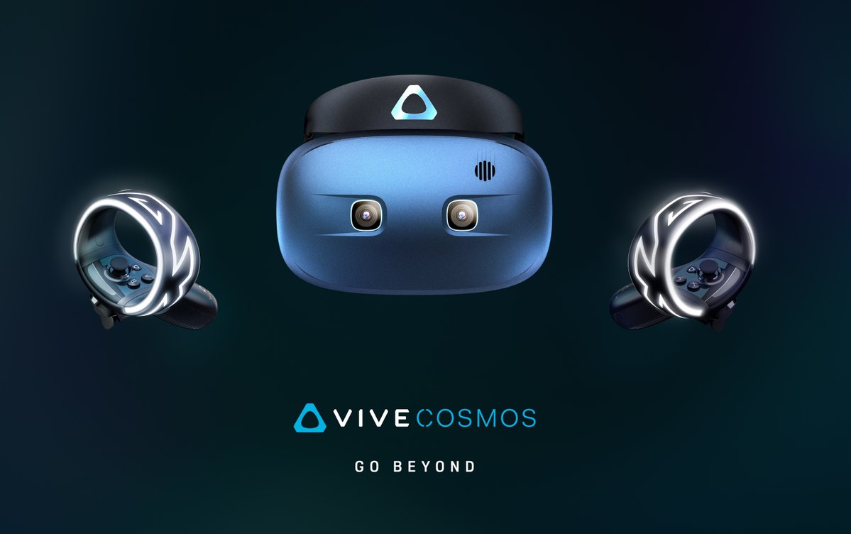 HTC Vive Cosmos Headset Promises Lightweight, Portable VR