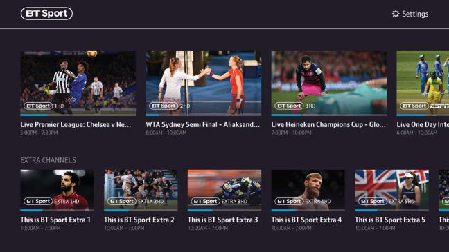 BT Sport launches PlayStation 4 app – Digital TV Europe