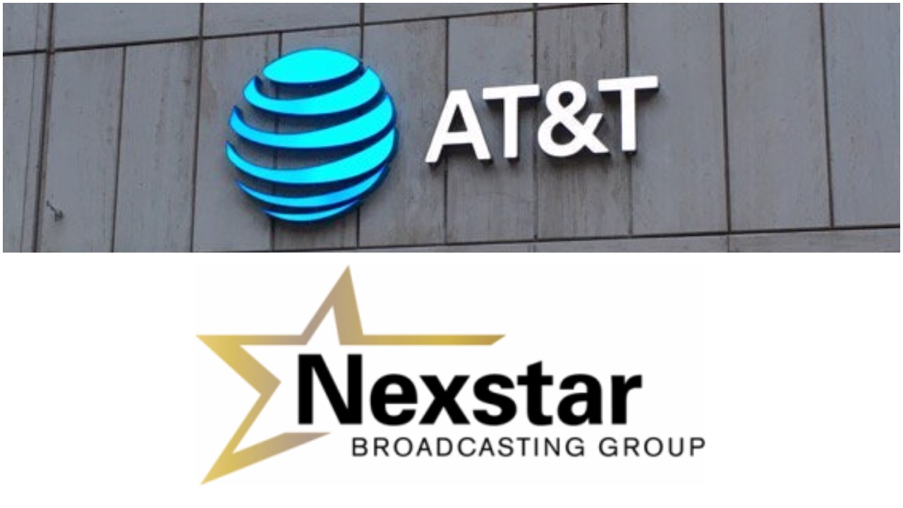 Nexstar channels blacked out overnight by AT&T in the US