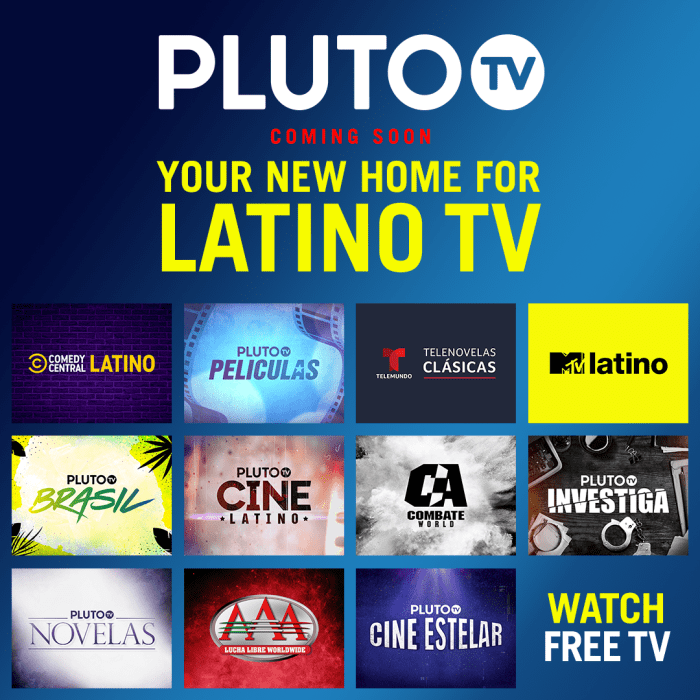 Pluto Tv Targets Hispanic Market With Pluto Tv Latino Digital Tv