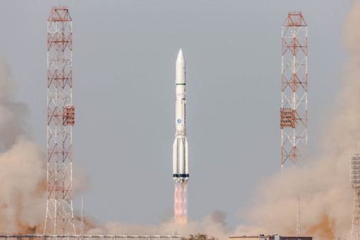 Of-Its-Kind Satellite Servicing Spacecraft Launches on Russian Rocket