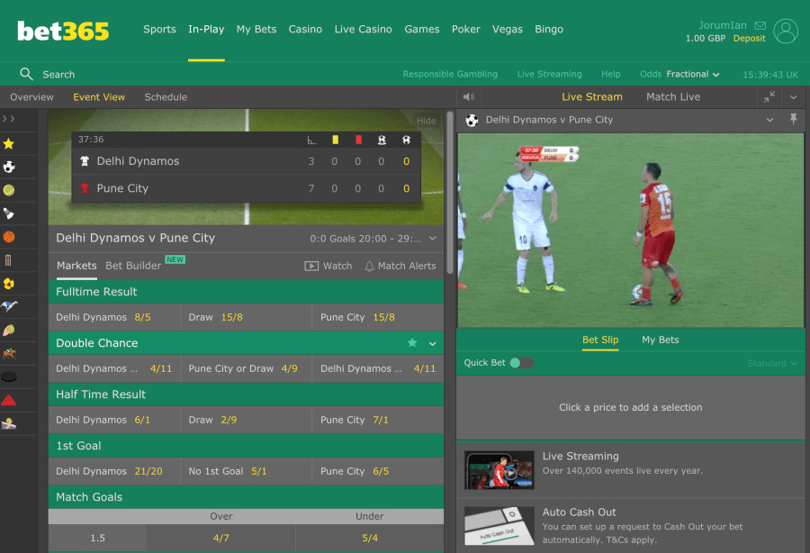 cash out betting companies in europe